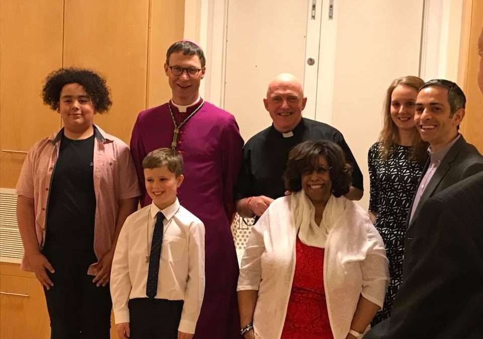 Confirmation and Easter Vigil Mass with Bishop Philip North